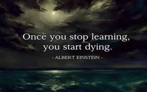 image of quote from Albert Einstein for blog post Your Money and You: Using Wealth to Enhance Learning
